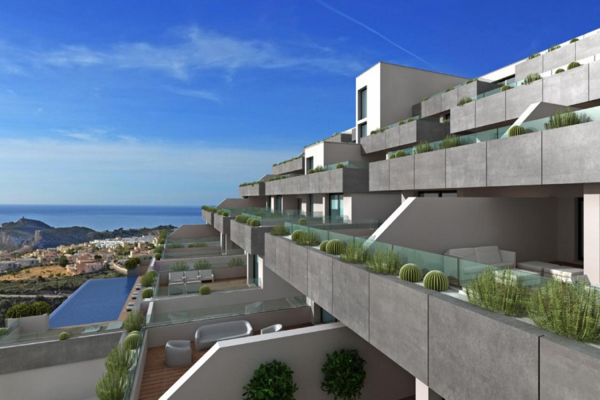 Appartement Cumbre del Sol Costa Blanca Noord Spanje in Immo Spanje